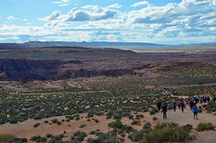 2019 - Highway 89, Between Willow Springs & Page, Arizona; Approaching the Horseshoe Bend, Colorado River (Voyageur du Monde) Tags: highway89 page willow springs arizona horseshoebend coloradoriver