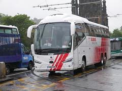 City Circle of Newbridge Scania K410EB6 Irizar i6s YN18SVR 97, in Globus Tours livery, at Princes Street, Edinburgh, on 28 May 2019. (Robin Dickson 1) Tags: citycircle busesedinburgh globustours scaniak410eb6 irizari6s yn18svr