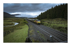 Sounds In The Clouds (-Metal-M1KE-) Tags: 6h51 dalwhinnie scotland 70812 70 colas colasrail colasrailfreight