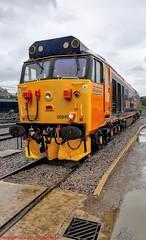 50049 @ Crewe (A J transport) Tags: class50 gbrf 50049 diesel locomotive railway trains england defiance crewe
