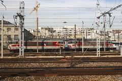 20081023 006 Paris Est. 15009 And 15018 'BONDY' (15038) Tags: railways trains sncf france bb15000 electric locomotive parisest 15009 15018 bondy