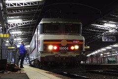 20081023 003 Paris Est. 15004 TER Train 839103, 07.35 To Bar-le-Duc (15038) Tags: railways trains sncf france bb15000 electric locomotive parisest 15004