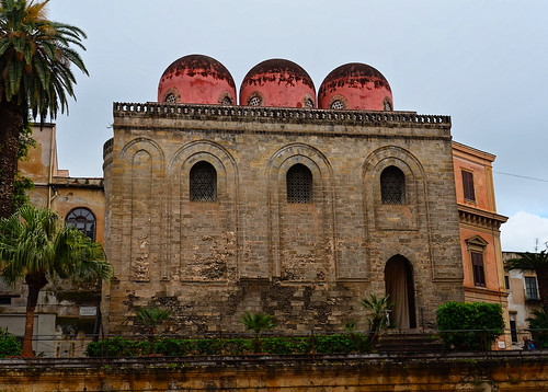 Palerme - Piazza Bellini - Chiesa San Cataldo (1015)