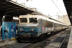 20081023 007 Paris Est. 15064 'SAVERNE' Arrived With 09.40 Ex-Saint-Dizier (15038) Tags: railways trains sncf france bb15000 electric locomotive parisest saverne