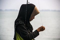 The fishing girl (Out Of The Map) Tags: malaysia penang outofthemap girl power solotravel travel explore asia play