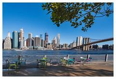Brooklyn bridge and downtown New York City (aus Kiel) Tags: stadtlandschaft uns amerika architektur schöner brücke brooklyn gebäude business stadt downtown orientierungspunkt manhattan neu nacht new york panorama park ray rivers himmel skyline skyscraper strase sonnenuntergang tourismus reisen urbano anblick wand