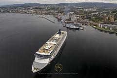 2019_06_17 MAVIC-Trondheim Havn- DJI_0135 (CaptainsVoyage) Tags: norwegian spirit serenissima port trondheim cruise cruiseships