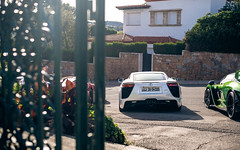 Triple exhaust (JHGomez Photography) Tags: lexus lfa tdf car supercar coche coches cars supercars hypercars hypercar girona gerona barcelona catalunya cataluña spain españa 2019