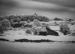 Wirksworth IR - Explored (Photo Lab by Ross Farnham) Tags: derbyshire sony a7r infrared ir mono bw countryside rossfarnham landscape 24105mm