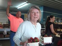 DSC07388 (Bristolsun) Tags: bullards3rdsaturdays bullardsgreenhouseandfarmmarket elkhart indiana freshstrawberries