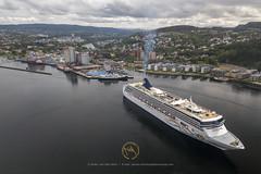 2019_06_17 MAVIC-Trondheim Havn- DJI_0147 (CaptainsVoyage) Tags: norwegian spirit serenissima port trondheim cruise cruiseships