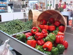 DSC07419 (Bristolsun) Tags: bullards3rdsaturdays bullardsgreenhouseandfarmmarket elkhart indiana freshstrawberries