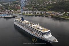 2019_06_17 MAVIC-Trondheim Havn- DJI_0143 (CaptainsVoyage) Tags: norwegian spirit serenissima port trondheim cruise cruiseships