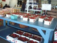 DSC07415 (Bristolsun) Tags: bullards3rdsaturdays bullardsgreenhouseandfarmmarket elkhart indiana freshstrawberries