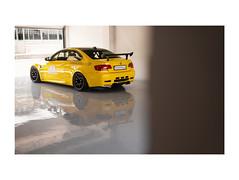 Schirmer GT M3 V8. (H5D) Tags: bmw m3 e92 teamschirmer yellow 50mm canon
