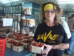 DSC07387 (Bristolsun) Tags: bullards3rdsaturdays bullardsgreenhouseandfarmmarket elkhart indiana freshstrawberries