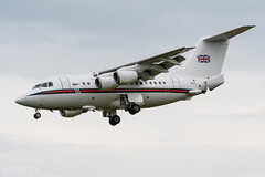 Northolt28 | BAe146 (lee adcock) Tags: airplane dsa raf bae146 nikond500 ze701 runway02 tamron150600g2 bae146ccmk2 noh28 northolt28