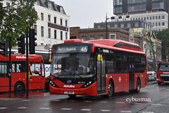 Comfort Delgro Metroline BEL2510, LJ18FHF. (EYBusman) Tags: comfort delgro metroline bus coach kings cross station london alexander dennis enviro 200 mmc bvd electric 200ev bel2510 lj18fhf eybusman regional transport buses
