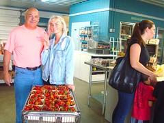DSC07391 (Bristolsun) Tags: bullards3rdsaturdays bullardsgreenhouseandfarmmarket elkhart indiana freshstrawberries