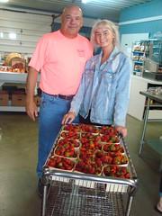 DSC07389 (Bristolsun) Tags: bullards3rdsaturdays bullardsgreenhouseandfarmmarket elkhart indiana freshstrawberries