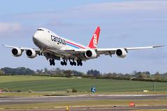 LX-VCB_02 (GH@BHD) Tags: lxvcb boeing 747 748 7478 b747 b748 74787rf cargoluxairlines cargolux cargoluxairlinesinternational prestwickinternationalairport pik egpk prestwick cargo freighter aircraft aviation airliner