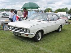 RBD 975G - 1968 Vauxhall Ventora (quicksilver coaches) Tags: vauxhall ventora fd rbd975g stockwoodpark luton