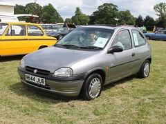 N644 JUR - 1996 Vauxhall Corsa 1.2i Premier (quicksilver coaches) Tags: vauxhall corsa n644jur stockwoodpark luton