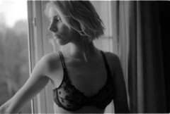 Panika (Dmitriy Protasov) Tags: filmphotography analoguephotography 35mm blackandwhite blackandwhitephotography boudoirphotography boudoir blonde analogphotography shotonfilm ilford