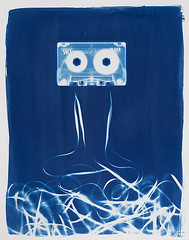 (RealitySoSubtle) Tags: cyanotype alt process cameraless bergger cot320