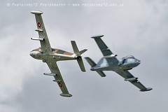 0801 Strikemaster opposition pass (photozone72) Tags: strikemaster strikedisplay dunsfold dunsfoldpark wingswheels classicjet aviation aircraft airshows airshow canon canon7dmk2 canon100400f4556lii 7dmk2