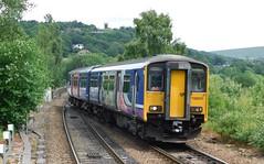 Blackburn to Southport Stopper (The Walsall Spotter) Tags: todmorden railway station yorkshire class1502 sprinter dmu 150225 uk multipleunit blackburn southport networkrail britishrailways
