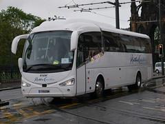 Ratho Coaches of Newbridge Scania K360IB4 Irizar i6 YT19EBM at Princes Street, Edinburgh, on 28 May 2019. (Robin Dickson 1) Tags: busesedinburgh rathocoachesofnewbridge scaniak360ib4 irizari6 yt19ebm
