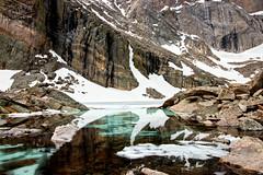 Chasm Lake (valentina425) Tags: colorado lake mountains reflections ice snow rockymountainsnp rocks