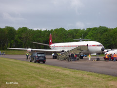 Comet (BenGPhotos) Tags: bruntingthorpe cold war jets collection open day may 2019 plane jet aircraft de havilland comet xs235 4c