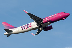 HA-LYF (Andras Regos) Tags: aviation aircraft plane fly airport bud lhbp spotter spotting takeoff wizz wizzair airbus a320
