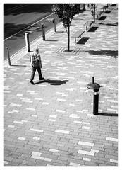 "Sports Centre - Before (Dave Button) Tags: ""black white"" mono monochrome fuji fujifilm acros bw ""bw"" street ""street photography"" xt2 23mm nottingham ""university nottingham"" border grey grayscale greyscale tone ""tonal range"" shadow light photo urban city"