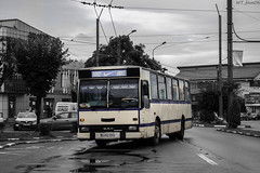 DSC_0561 (WT_fan06) Tags: dac rocar 112 udm targu jiu oldtimer retro vintage citybus cityscape urban street photography nikon d3400 dslr reflection rainy transportation public