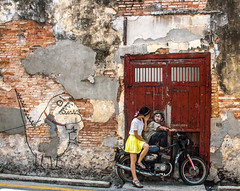 Street Art - PENANG (Out Of The Map) Tags: malaysia penang streetart art city travel explore travelsolo street outofthemap asia urbanculture play backpacker