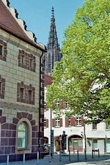Ulm, the city (hansottoschöttle) Tags: ulm city medival architecture steeple