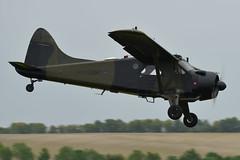 AAC de Havilland Beaver AL Mk1 XP820 (Tobyone1985) Tags: aac de havilland beaver al mk1 xp820 army historic flight airshow aircraft avation duxford