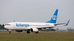 B737 | EC-MUZ | AMS | 20190618 (Wally.H) Tags: boeing 737 boeing737 b737 ecmuz aireuropa ams eham amsterdam schiphol airport