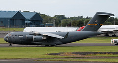 03-3124 (PrestwickAirportPhotography) Tags: egpk prestwick airport usaf united states air force boeing c17a globemaster 033124 charleston mobility command