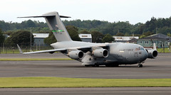 02-1105 (PrestwickAirportPhotography) Tags: egpk prestwick airport usaf united states air force boeing c17a globemaster 021105 mcchord mobility command