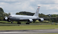 61-0309 (PrestwickAirportPhotography) Tags: egpk prestwick airport united states air force boeing kc135r stratotanker 610309 wisconsin national guard