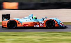 Donington Park : Oak Racing Pescarolo LMP1 (Adrian.W) Tags: doningtonpark donington racetrack circuit racingtrack motorsport motorsportphotography testday oakracing pescarolo lmp1 gulfmotorsport panningphotography lumix gx9 lumixgx9 microfourthirds mirrorlessphotography 100300mm car racecar