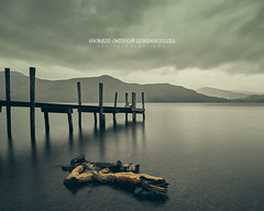 Jetty on the Derwent Water (Zoltan Schadel photography) Tags: lakedistrict lakedistrictnationalpark derwentwater ashnessjetty jetty clouds