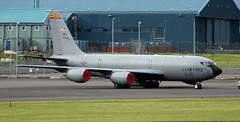 64-14831 (PrestwickAirportPhotography) Tags: egpk prestwick airport usaf united states air force boeing kc135r stratotanker 6414831 arizona national guard