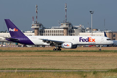 N903FD (Andras Regos) Tags: aviation aircraft plane fly airport bud lhbp spotter spotting landing fedex federalexpress cargo freighter boeing 757 b752 757200 757200f