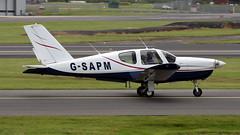 G-SAPM (PrestwickAirportPhotography) Tags: egpk prestwick airport socata tb20 trinidad gsapm