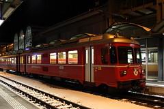 20101130 030 Thusis. 511 S2 1567 17.48 ex-Chur (15038) Tags: thusis 511 railways trains switzerland rhaetianrailway rhätischebahn ferroviaretica viafierretica rhb be44 electric emu